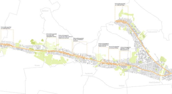 Projektbegleitung ExWost-Modellvorhaben – Quartiersverdichtung entlang von Magistralen, Hamburg-Altona