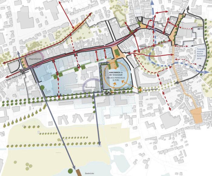 Konzept Rahmenplan Innenstadt, Stadt Schleswig