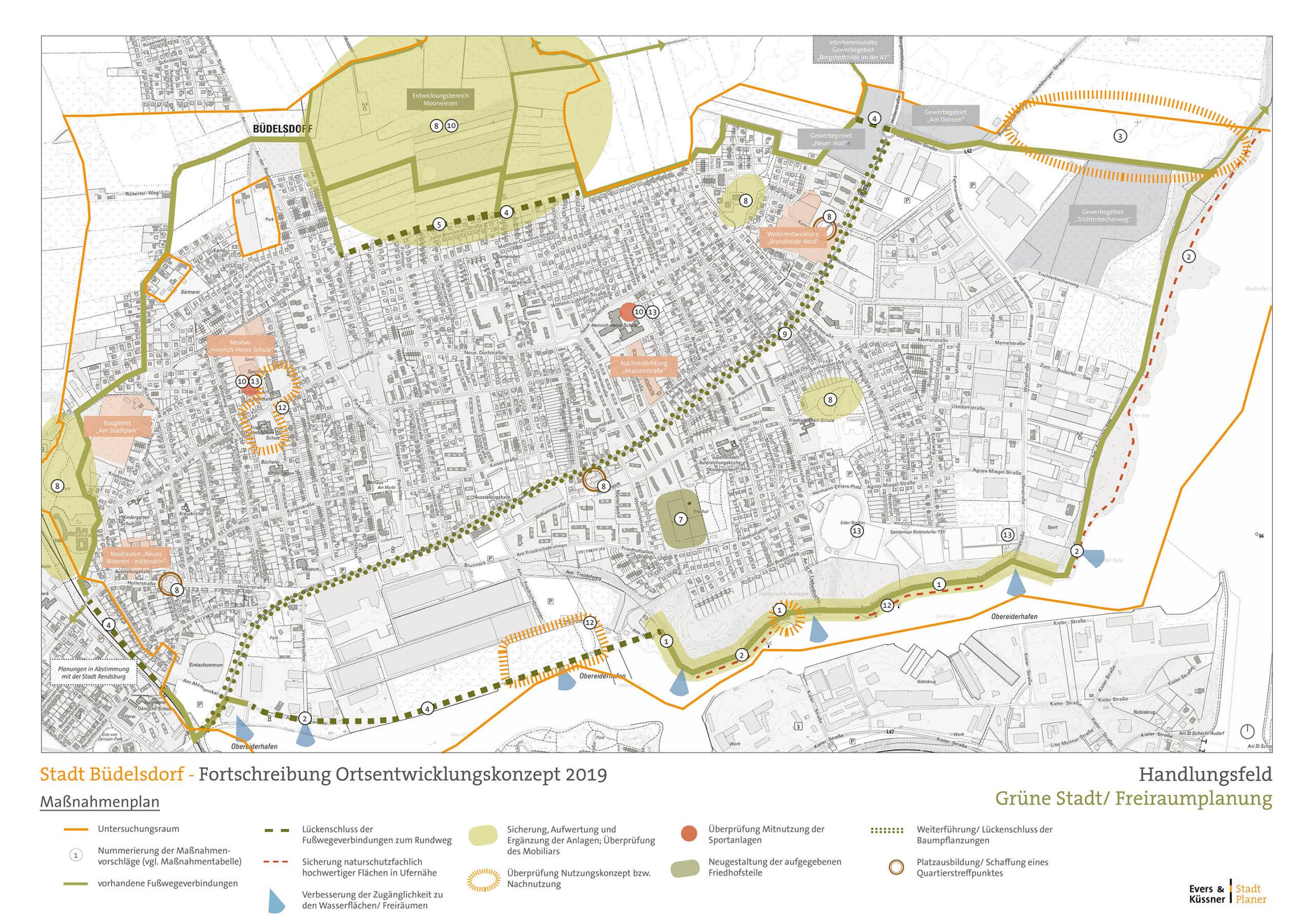 Neuaufstellung des Ortsentwicklungskonzepts, Stadt Büdelsdorf