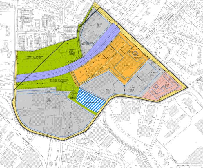 Bebauungsplan Hamburg-Stellingen 63 Eidelstedt 70