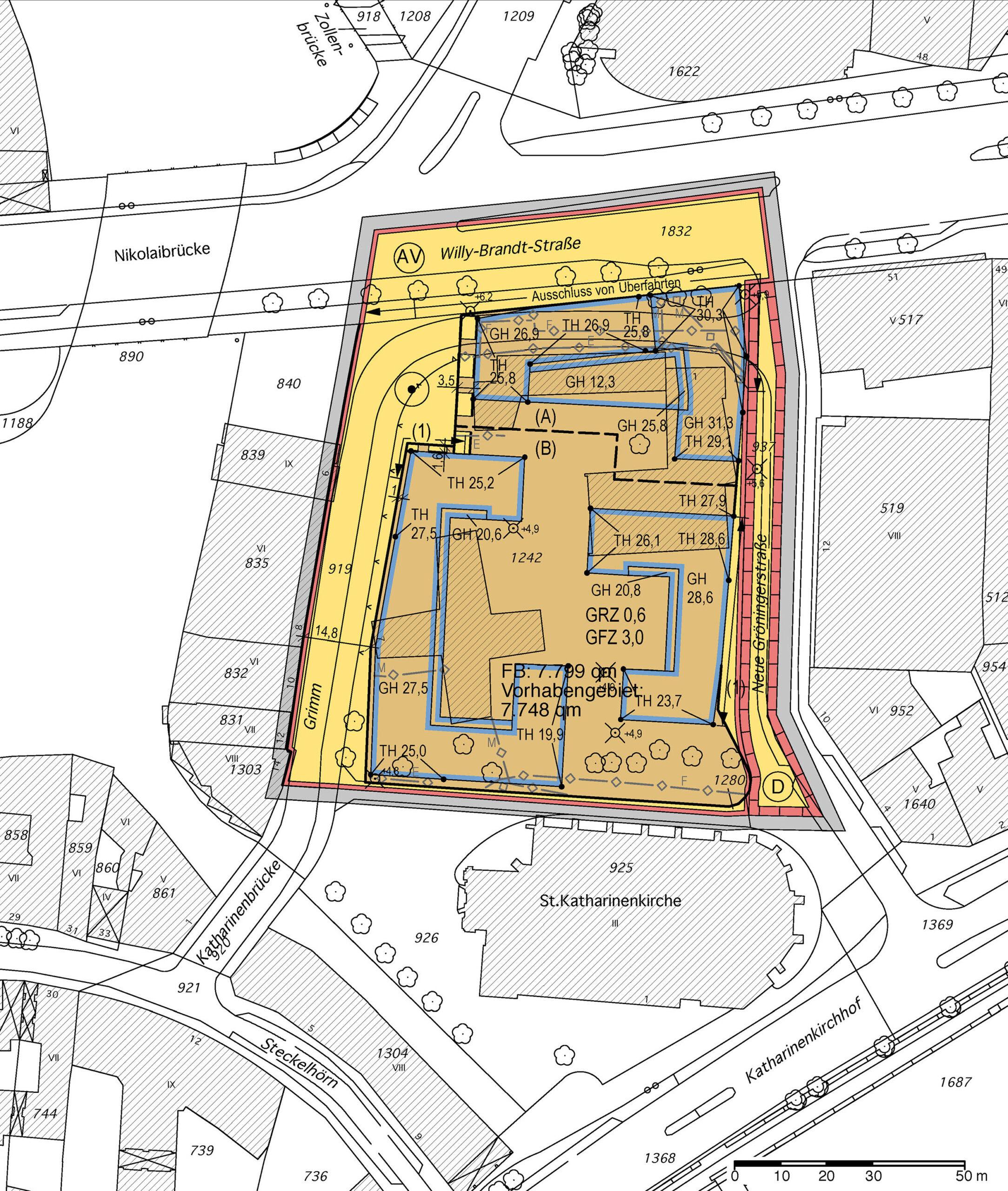 Bebauungsplan Hamburg-Altstadt 42