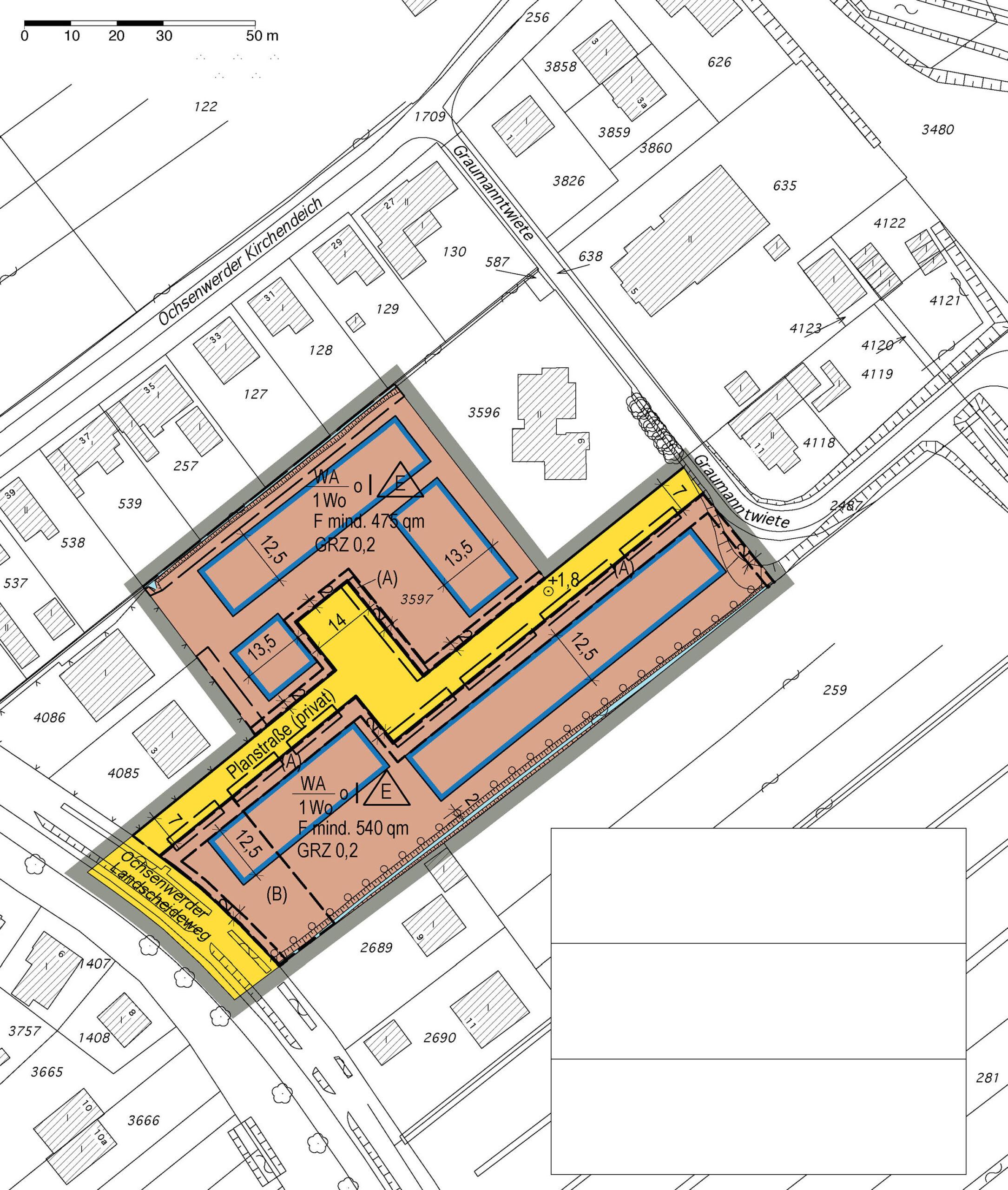 Bebauungsplan Ochsenwerder 12, Hamburg-Bergedorf