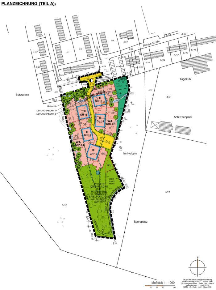 Bebauungsplan Nr. 7, Stadt Schwarzenbek
