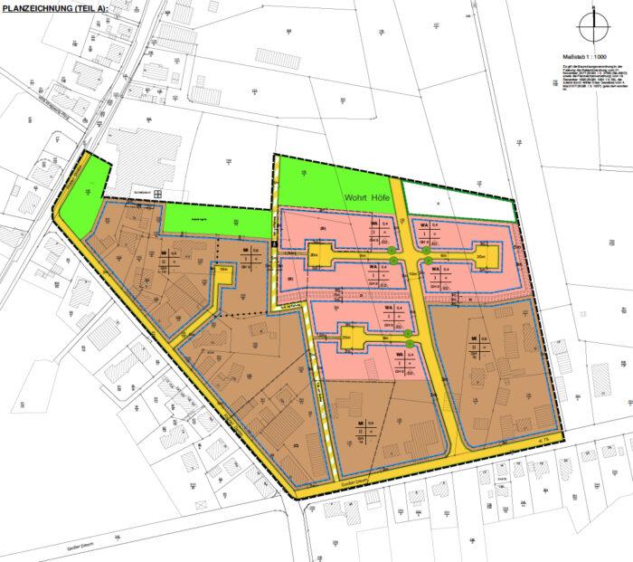 Aufstellung des Bebauungsplans 41a, Ahlerstedt