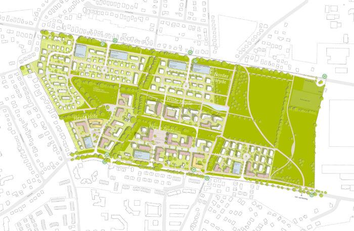 Rahmenplan Grüne Heyde Norderstedt 01b