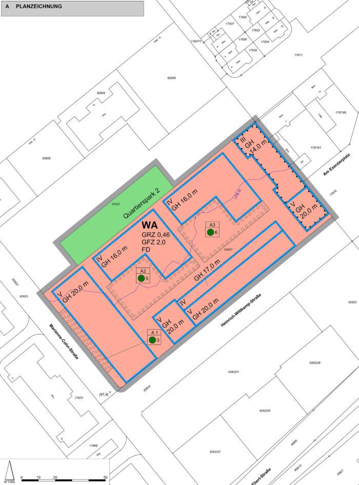 Änderung des Bebauungsplans Nr. 32.41.1, Stadt Mannheim – Neckarstadt Ost