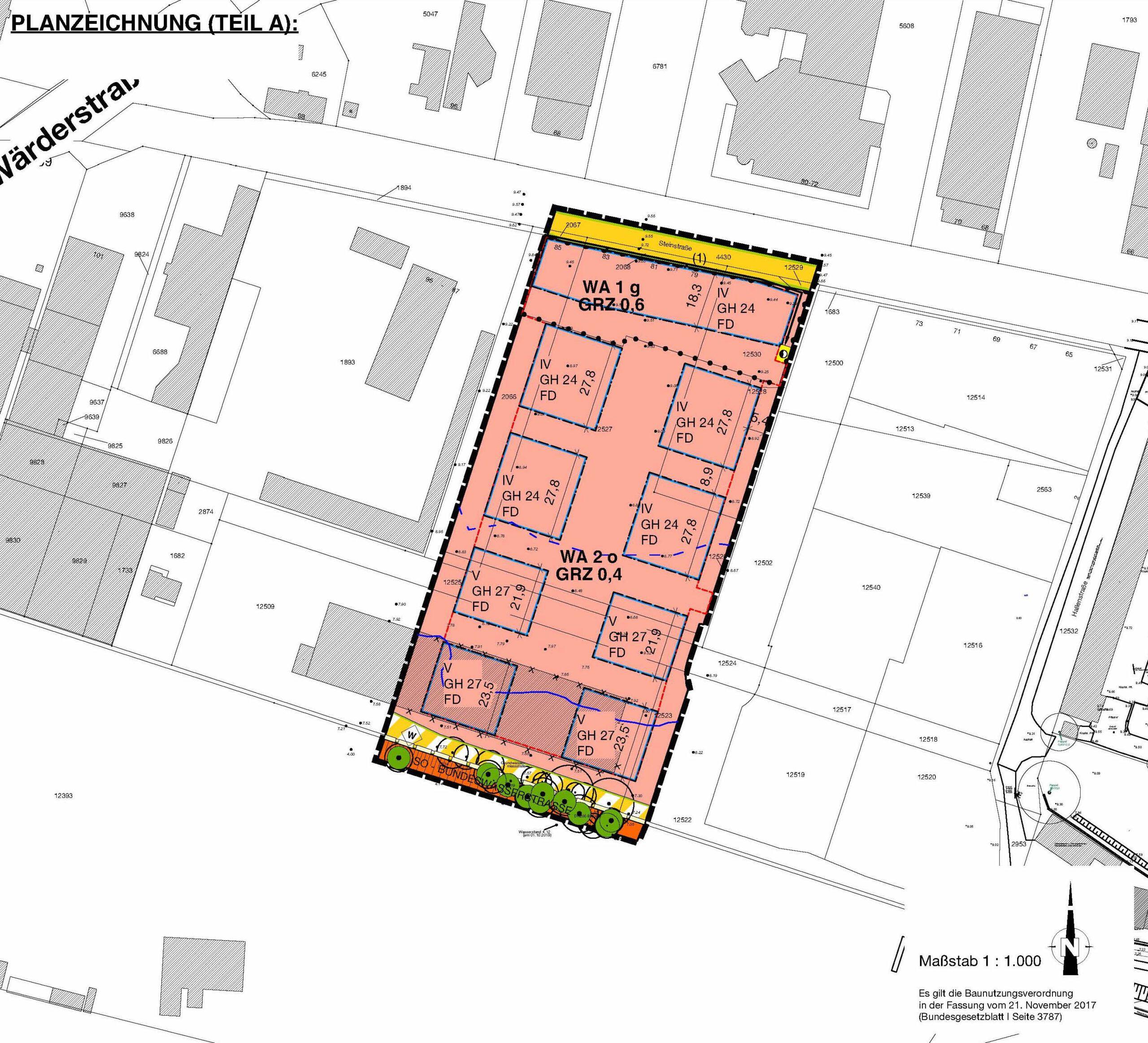 Bebauungsplan I/35, Stadt Geesthacht